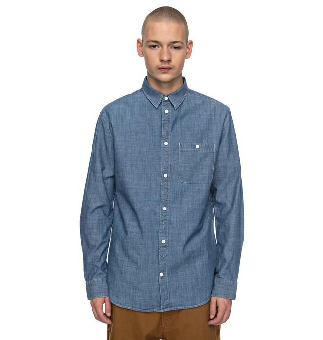 0 Men's Arrowood Long Sleeve Shirt Black EDYWT03163 DC Shoes