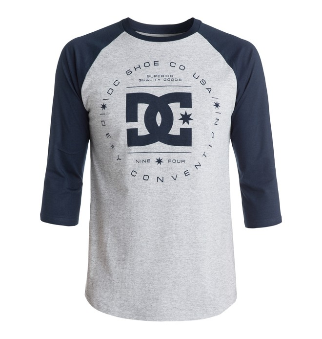 0 Men's Rebuilt Raglan Tee  EDYZT03143 DC Shoes