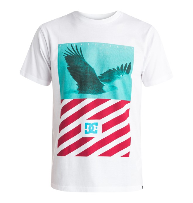 0 Skyview - T-Shirt White EDYZT03350 DC Shoes