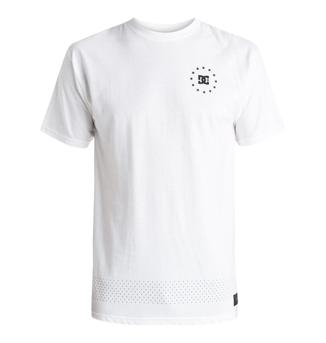 0 Kalis 07 - T-Shirt White EDYZT03395 DC Shoes