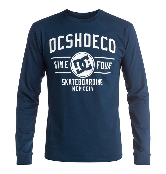 0 Recover - Long Sleeve T-Shirt Blue EDYZT03476 DC Shoes