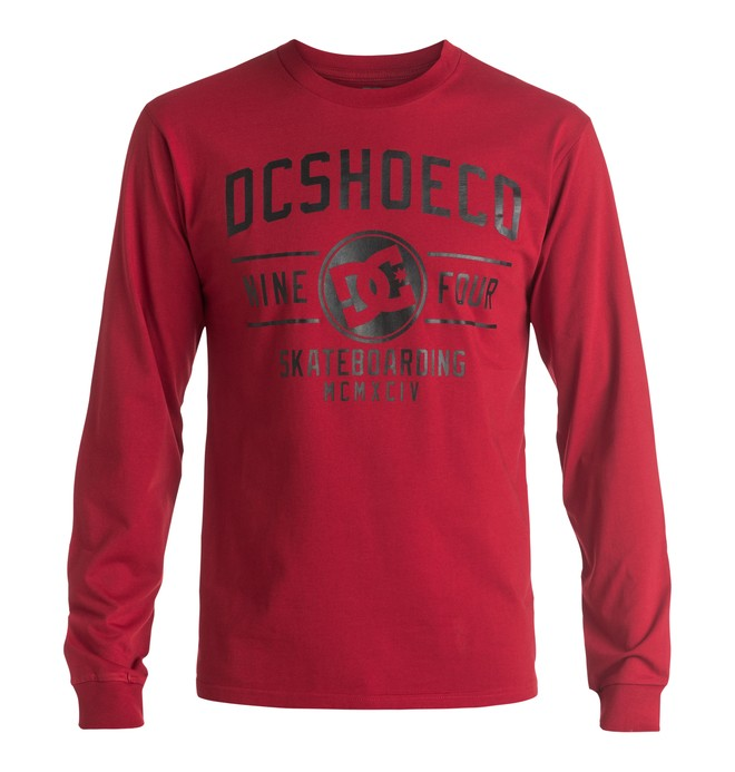 0 Recover - Long Sleeve T-Shirt Red EDYZT03476 DC Shoes
