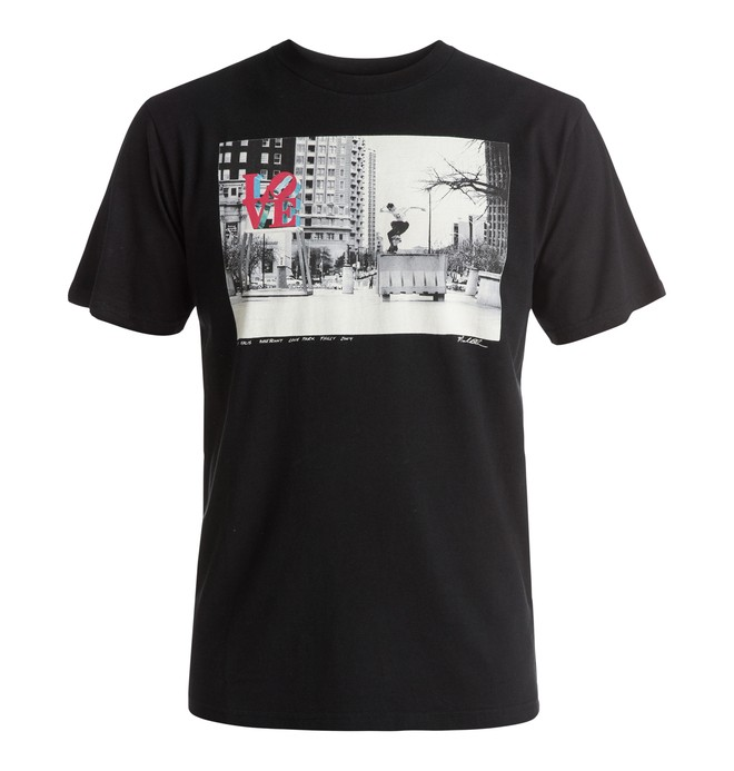 0 Kalis Love - T-Shirt Black EDYZT03528 DC Shoes