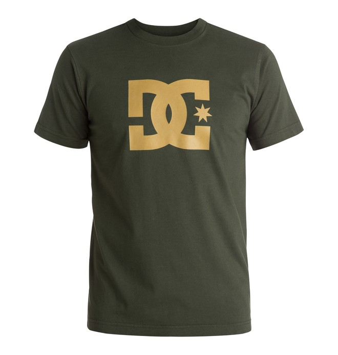 0 Star - T-Shirt Brown EDYZT03557 DC Shoes