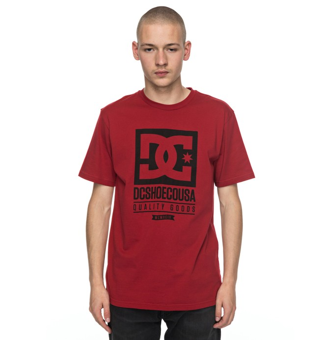 0 Keep Rolling - T-Shirt Red EDYZT03680 DC Shoes