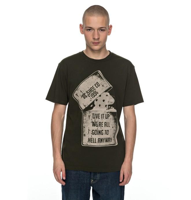0 Dead Above - T-Shirt Brown EDYZT03682 DC Shoes