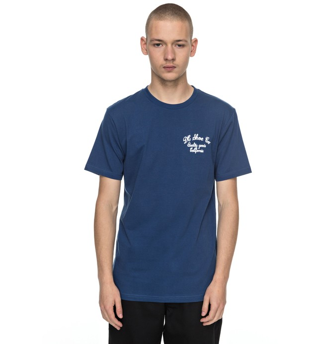 0 Squander - T-Shirt Blue EDYZT03686 DC Shoes
