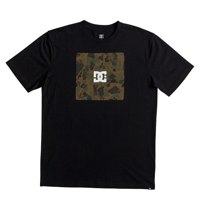 0 Square Boxing - T-Shirt Black EDYZT03692 DC Shoes