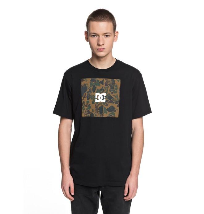 0 Square Boxing - T-Shirt Black EDYZT03692 DC Shoes