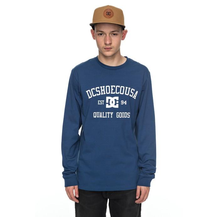 0 Headphase - Long Sleeve T-Shirt Blue EDYZT03696 DC Shoes