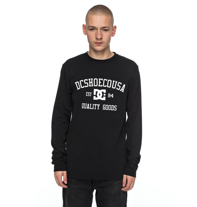 0 Headphase - Long Sleeve T-Shirt Black EDYZT03696 DC Shoes