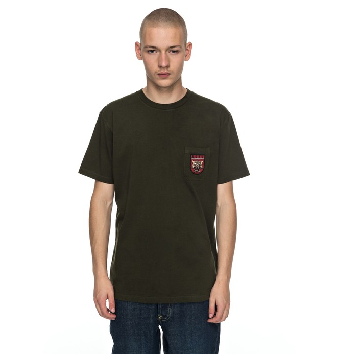 0 Barkly - T-Shirt Brown EDYZT03698 DC Shoes