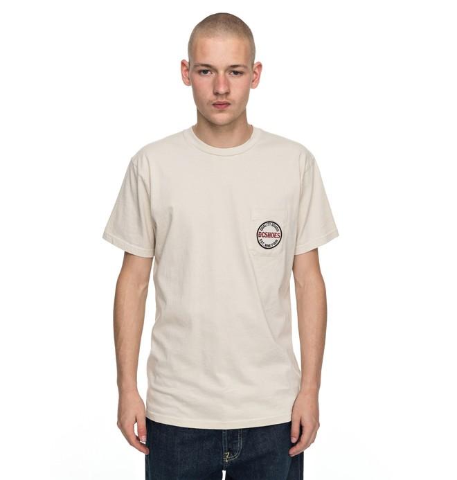 0 Junction - T-Shirt Gray EDYZT03700 DC Shoes