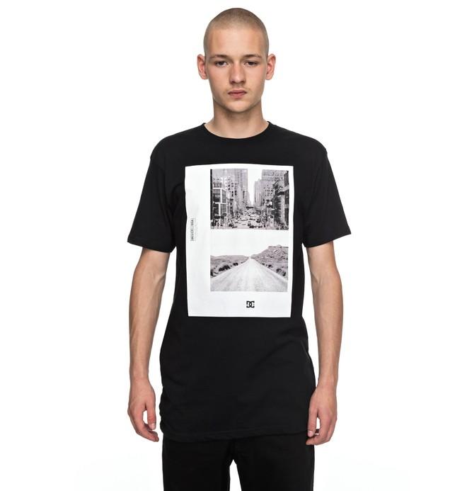 0 Keep Moving - T-Shirt Black EDYZT03705 DC Shoes