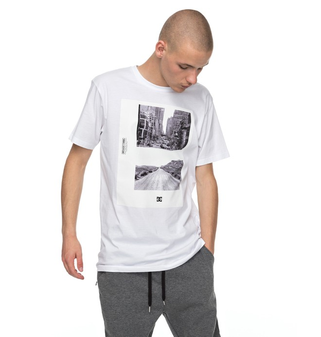 0 Keep Moving - T-Shirt White EDYZT03705 DC Shoes