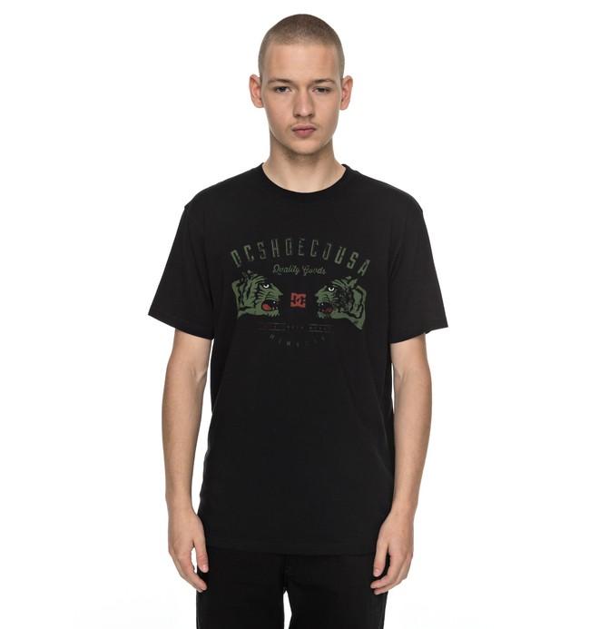 0 Surrender Never - T-Shirt Black EDYZT03710 DC Shoes