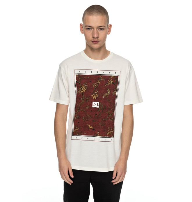 0 Autumn Charms - T-Shirt White EDYZT03720 DC Shoes