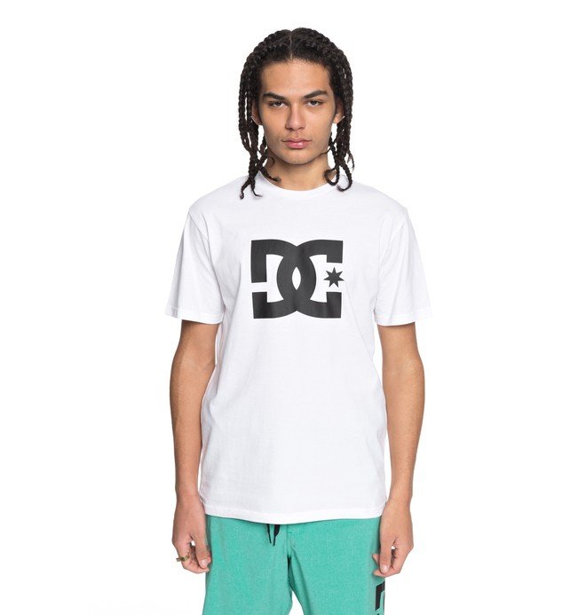 0 Star - T-Shirt White EDYZT03721 DC Shoes