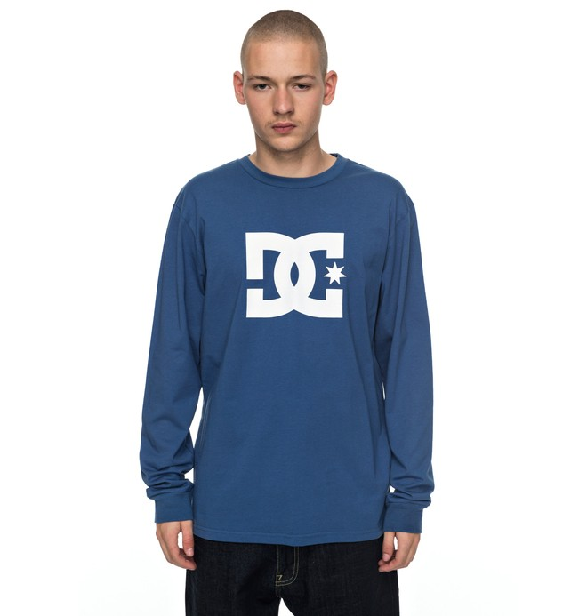 0 Star - Long Sleeve T-Shirt Blue EDYZT03727 DC Shoes