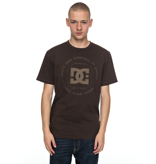 0 Rebuilt - T-Shirt Braun EDYZT03728 DC Shoes