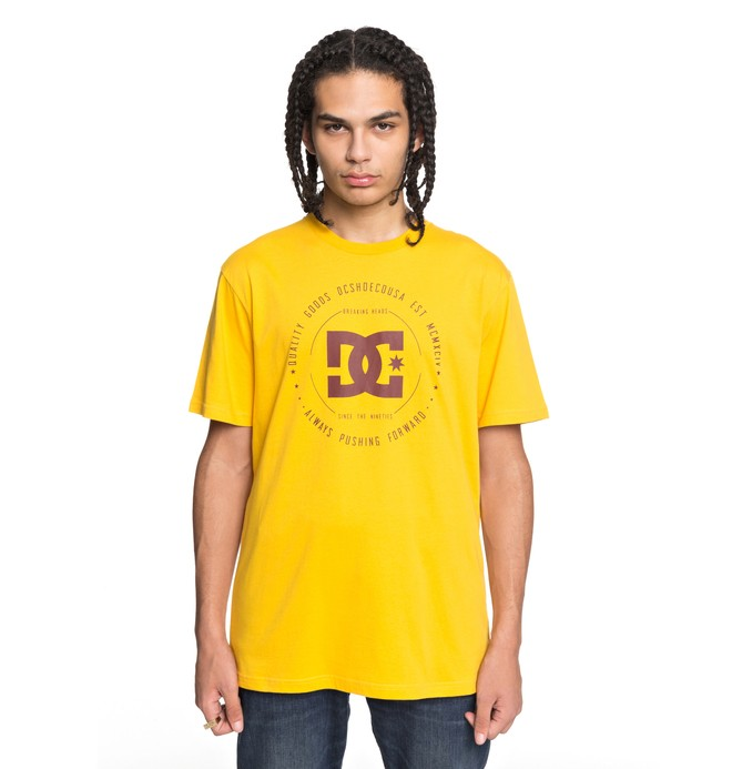 0 Rebuilt - Camiseta Amarillo EDYZT03728 DC Shoes