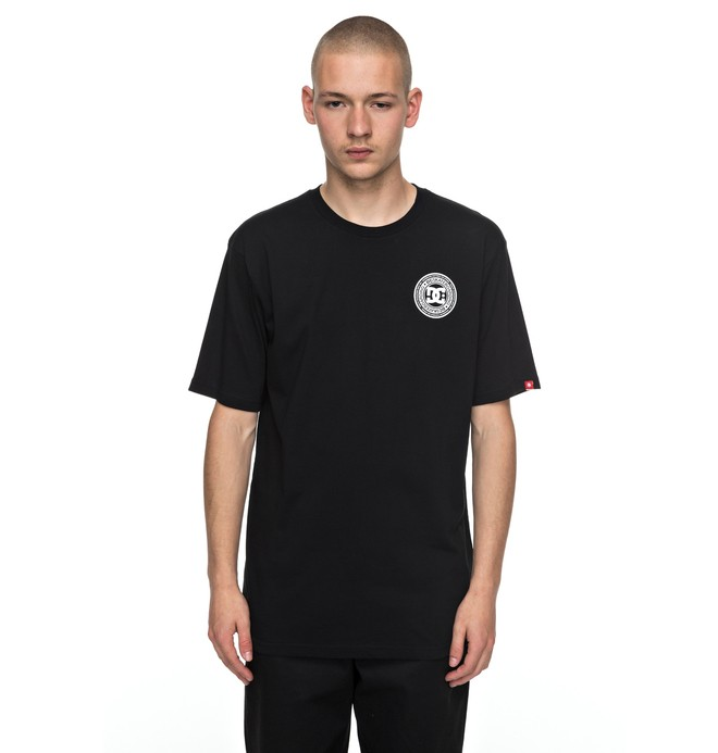 0 Skate Circle - T-Shirt Schwarz EDYZT03732 DC Shoes