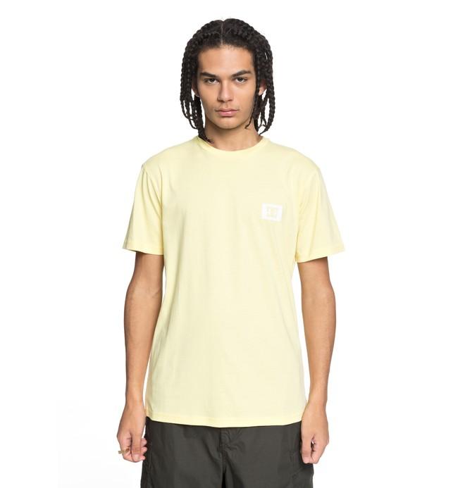 0 Stage Box - T-Shirt Yellow EDYZT03742 DC Shoes