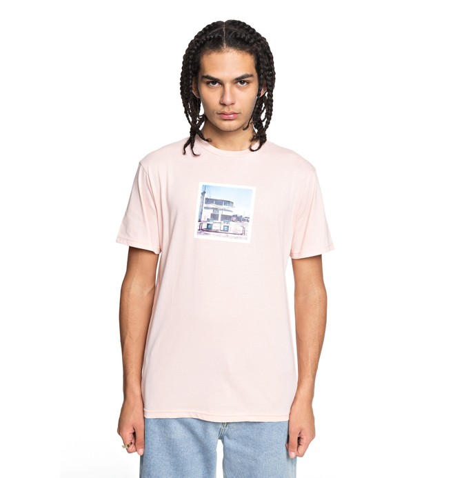 0 Men's Viajero Tee Pink EDYZT03748 DC Shoes