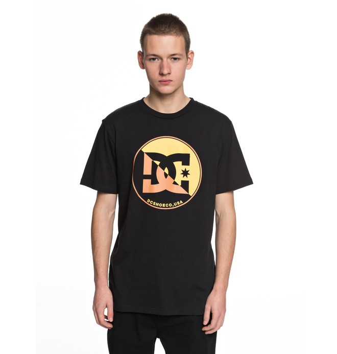 0 Up Shore - T-Shirt Black EDYZT03749 DC Shoes