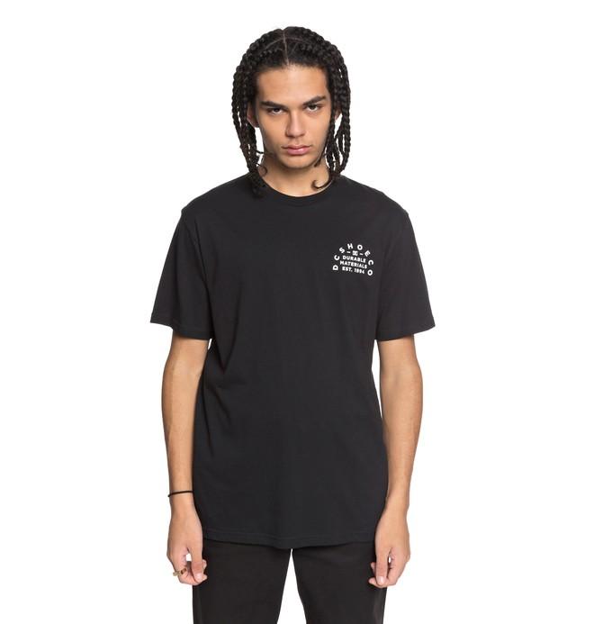 0 Durable Timer - T-Shirt Black EDYZT03755 DC Shoes