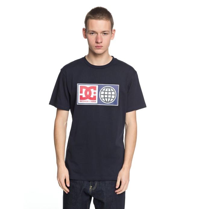 0 Global Salute - T-Shirt Blue EDYZT03758 DC Shoes