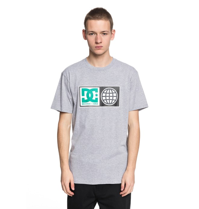 0 Global Salute - T-Shirt Black EDYZT03758 DC Shoes