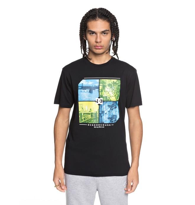 0 City To State - T-Shirt Black EDYZT03765 DC Shoes