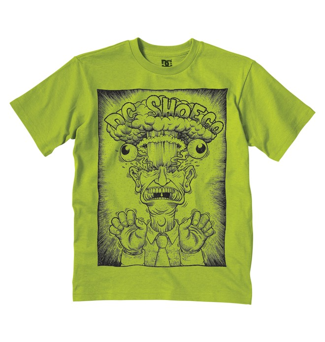 0 Kid's Head Explody Tee  K1200075 DC Shoes