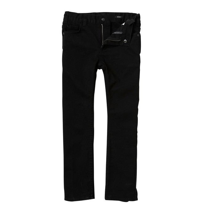 0 Kid's Straight Jeans Black K1800032 DC Shoes