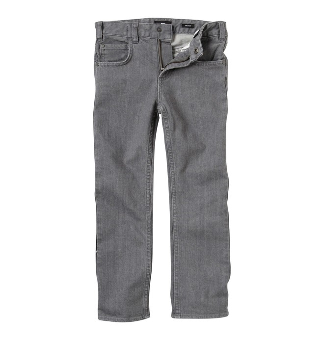 0 Kid's Straight Jeans Grey K1800032 DC Shoes