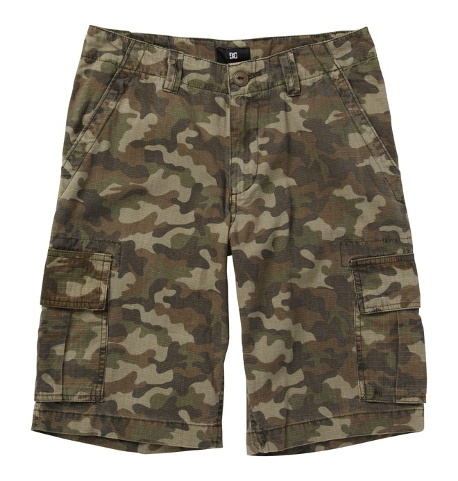0 Kid's Deploy Shorts  K1810053 DC Shoes
