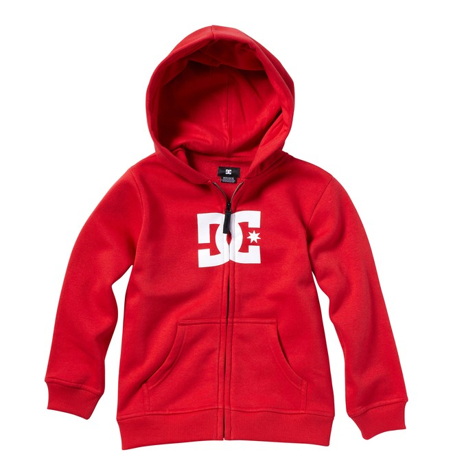 0 Kid's Star Zip Hoodie  K3260021 DC Shoes