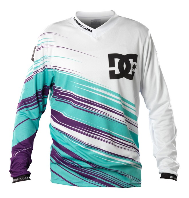 0 Men's Nate Adams Signature Jersey  TL006 DC Shoes