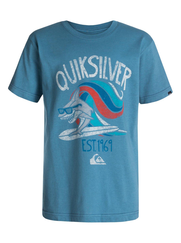 Boys 4 7 Sharksurf T Shirt 40454133 Quiksilver