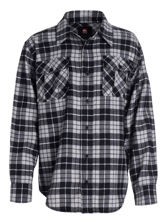 Boys 8 16 flannel plaid long sleeve shirt 40464037 for Long plaid flannel shirt