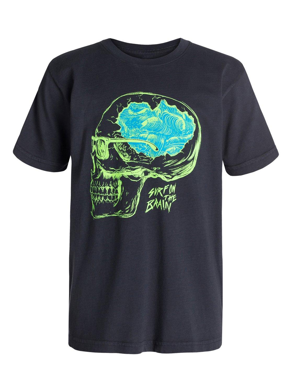 Boys 8 16 Surf On Brain T Shirt 40464111 Quiksilver