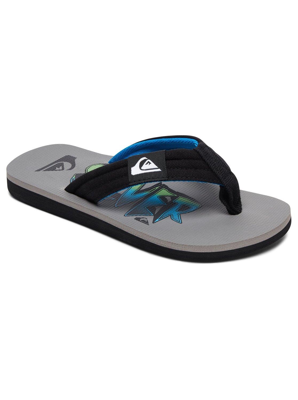 Boys 8 16 Molokai Layback Sandals Black AQBL100261 Quiksilver