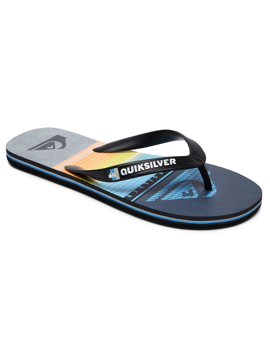 e3087426611784 0 Molokai Highline Slab - Teenslippers Black AQBL100263 Quiksilver