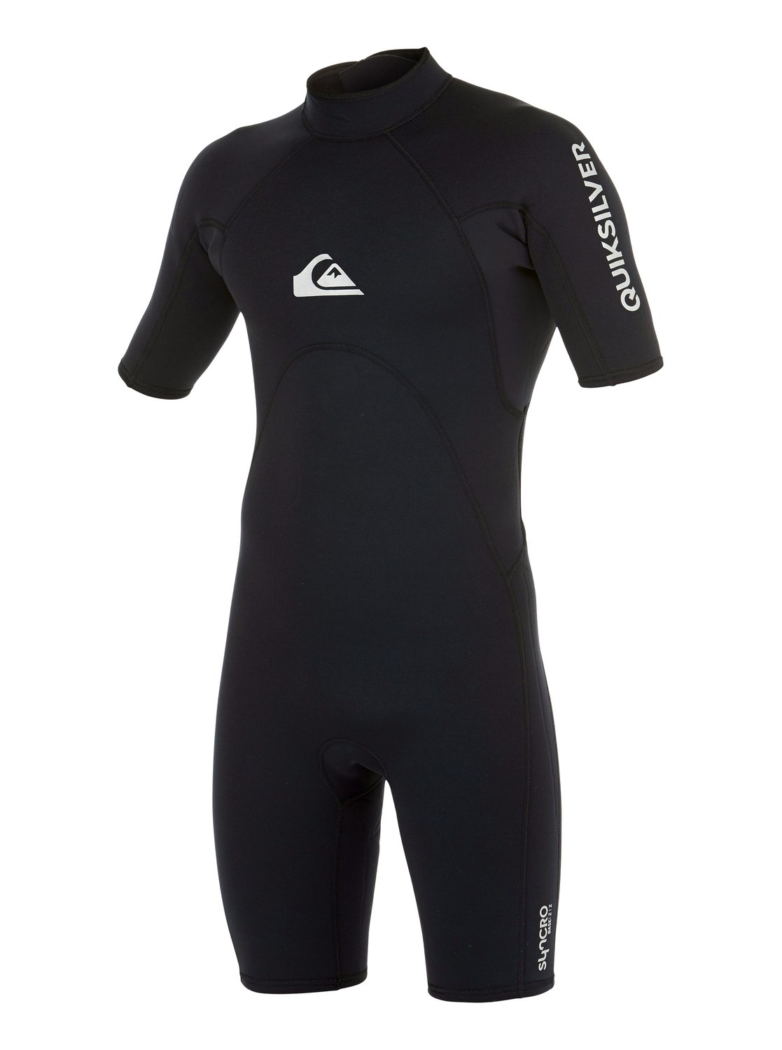Boy's Syncro Base 2/2mm Back Zip Short Sleeve Springsuit