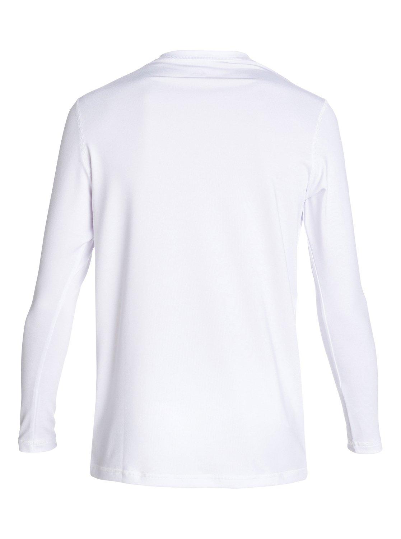 Solid Streak Long Sleeve T Shirt Rash Guard 888701067115