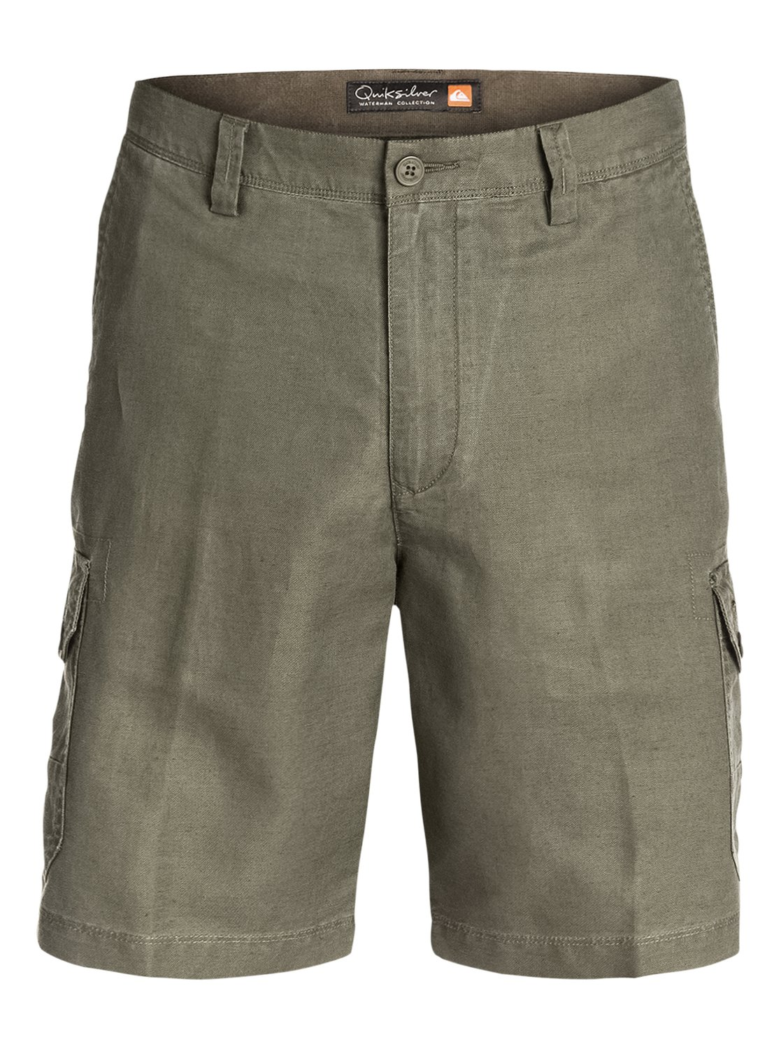 Men's Cape Cod Linen Cotton Cargo Shorts AQMWS03045 | Quiksilver