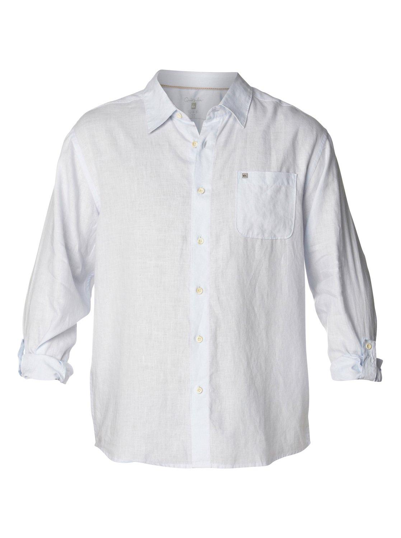 Men 39 s burgess bay long sleeve linen shirt 888256589551 for Linen long sleeve shirt