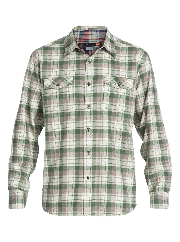 Mens pescadero long sleeve flannel shirt aqmwt03066 for Mens long sleeve flannel shirts
