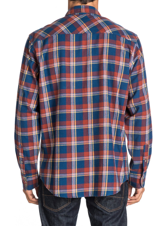Men 39 s forest beach long sleeve flannel shirt 888701428046 for Mens long sleeve flannel shirts